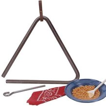 Chuck Wagon Triangle Bell
