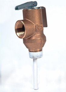 Automatic Temperature and Pressure Relief Valve for water heaters