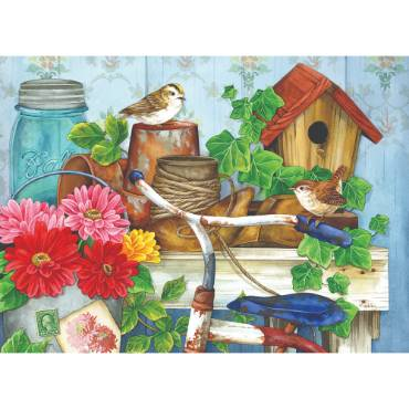 The Old Garden Shed Jigsaw Puzzle