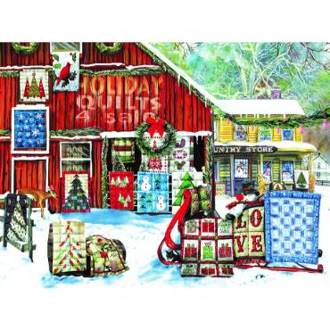 Holiday Quilts Jigsaw Puzzle