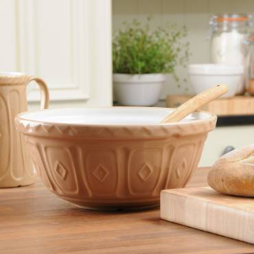Earthenware Mixing Bowls