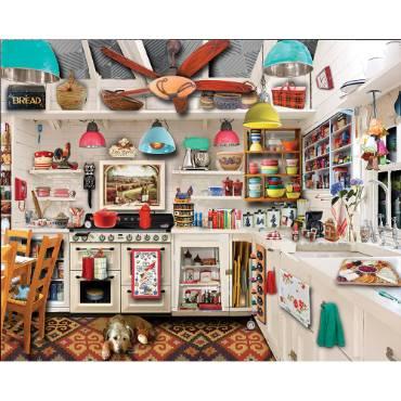 Retro Kitchen Seek & Find Jigsaw Puzzle