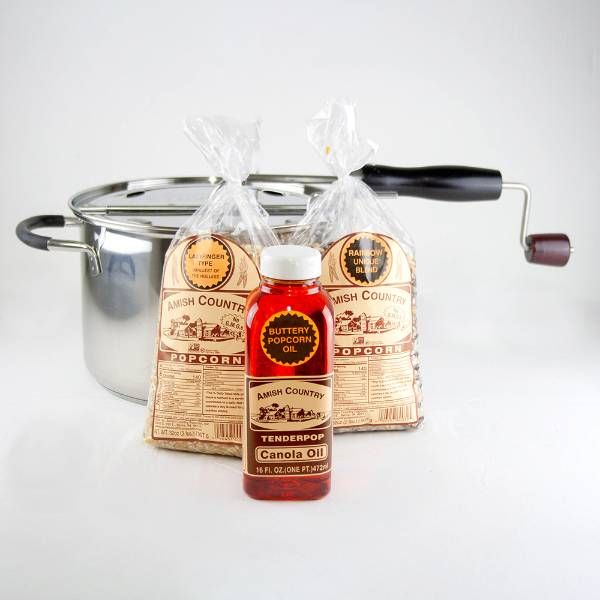 Amish Country Popcorn Beginner's Gift Set
