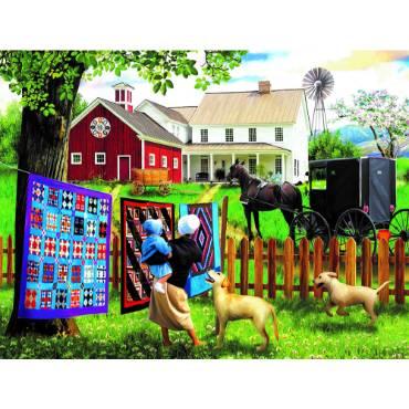 Family Homestead Jigsaw Puzzle