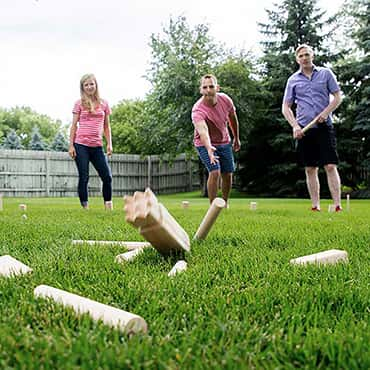 Kubb Yard Game Premium Set