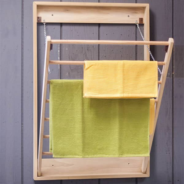 Wall-Mounted Clothes Drying Rack