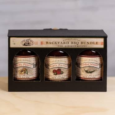 Backyard BBQ Sauce Bundle Gift Box