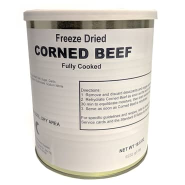 Freeze-Dried Corned Beef