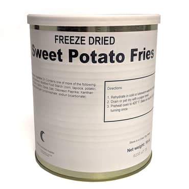 Freeze-Dried Sweet Potato Fries