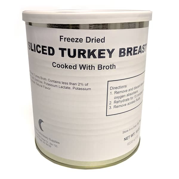 Freeze-Dried Sliced Turkey Breast