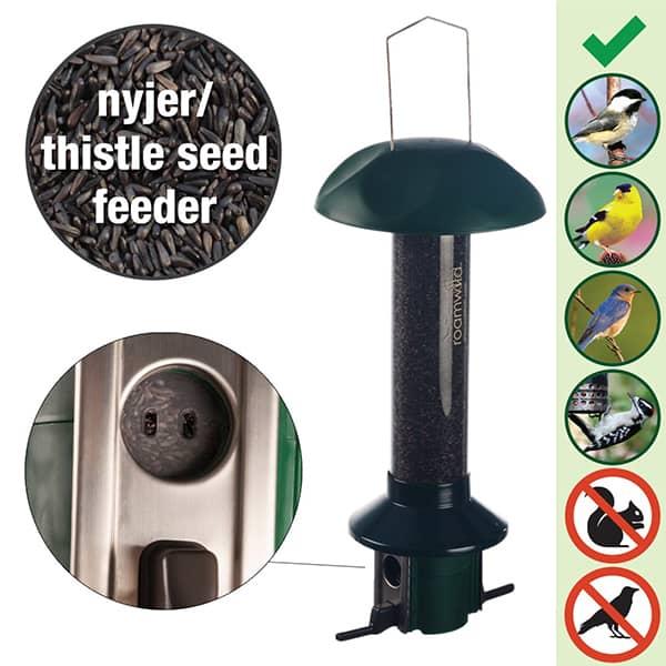 Roamwild PestOff Nyjer/Thistle Feeder