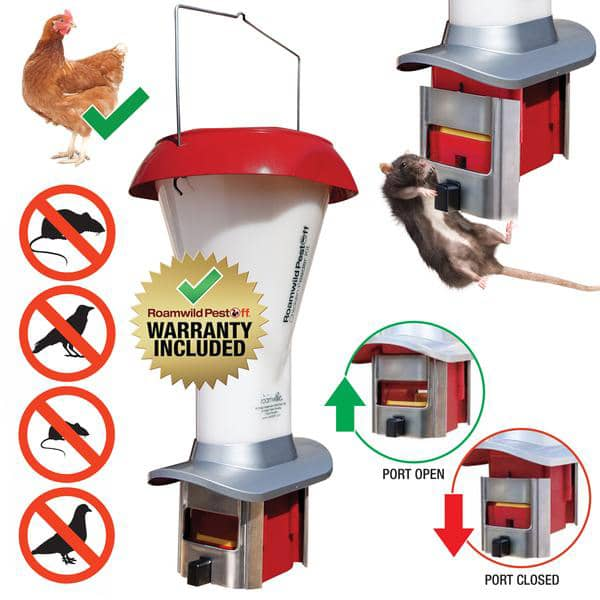 Roamwild PestOff Chicken Feeder Kit