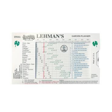 Lehman's Garden Planner