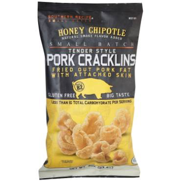 Honey Chipotle Pork Cracklins