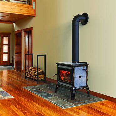 Hearthstone Heritage TruHybrid Wood Heat Stove