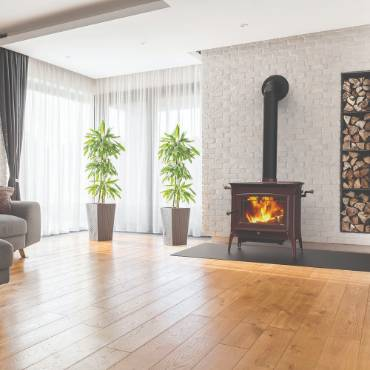 Hearthstone Manchester TruHybrid Wood Heat Stove