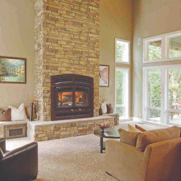Hearthstone Montgomery Wood Fireplace