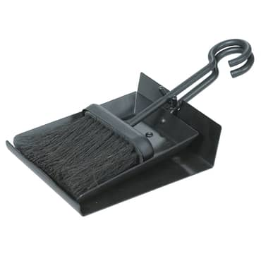Hearth Shovel and Brush Set with Pan