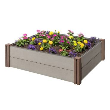 Plastic Composite Raised Garden Bed