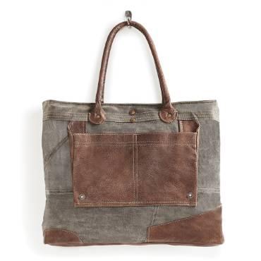 Upcycled Dakota Shoulder Bag
