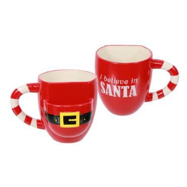 Santa Cookie Pocket Mug
