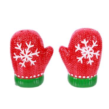 Mittens Salt and Pepper Shaker Set