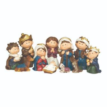 Children's Nativity Set - 11 Pieces