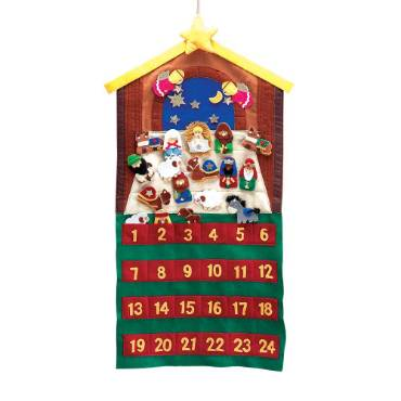 Felt Nativity Scene Advent Calendar