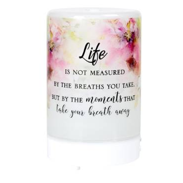 Life is Not Measured Glass Diffuser
