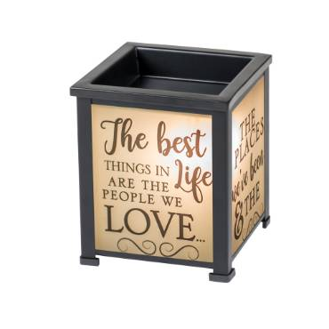 The Best Things in Life Lantern Warmer
