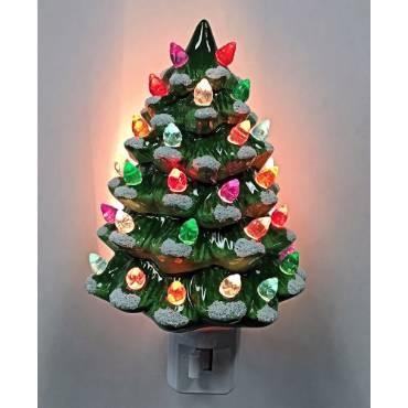Ceramic Christmas Tree Nightlight