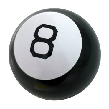 Magic 8 Ball Candy Tin