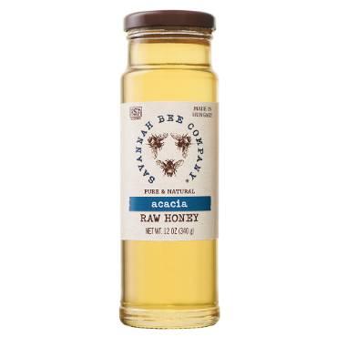 Pure Raw Honey - 12 oz