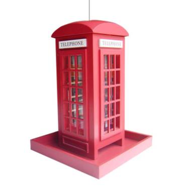 Telephone Booth Birdfeeder