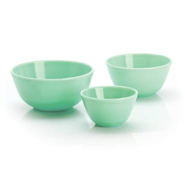 Glass Mixing Bowls - Set of 3