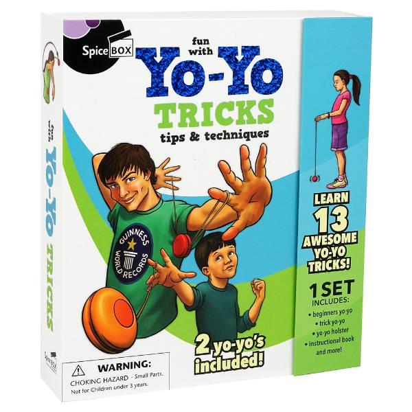 Fun With Yo-Yo Tricks