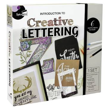 Introduction to Creative Lettering Kit