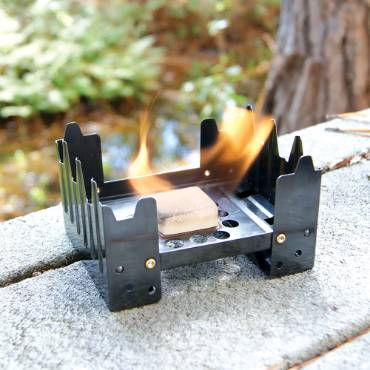 Folding Stove with Fuel