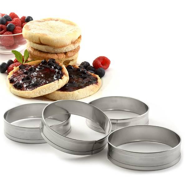 English Muffin Rings - Set of 4