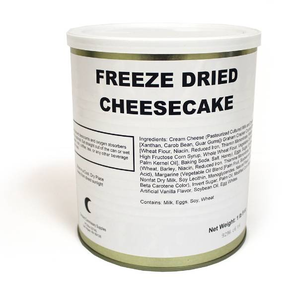 Freeze-Dried Cheesecake