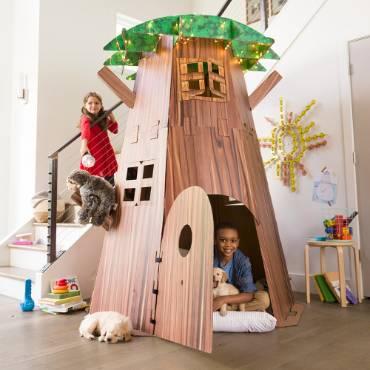 Indoor Tree Fort