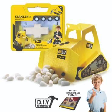 Stanley Jr Mini Bulldozer Kit