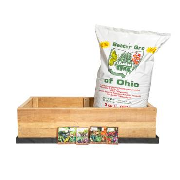 Raised Garden Bed Kit for Deck, Patio, Yard