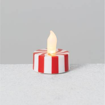 Peppermint LED Candles