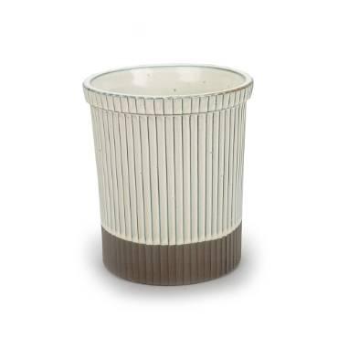 Rustico Ceramic Utensil Holder