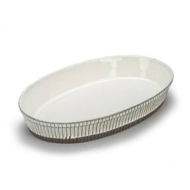 Rustico Ceramic Oval Baker