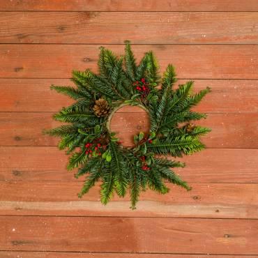 Classic Honey Locust Candle Wreath