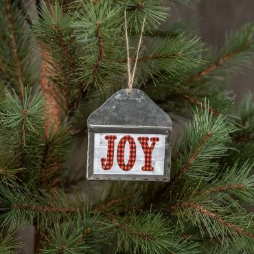 Joy Envelope Ornament