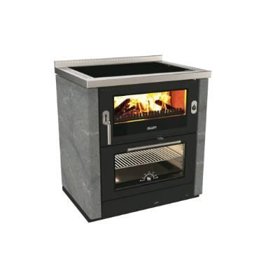 Rizzoli ML80 Rustic Wood Cookstove