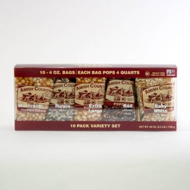 Amish Country Popcorn Variety Pack